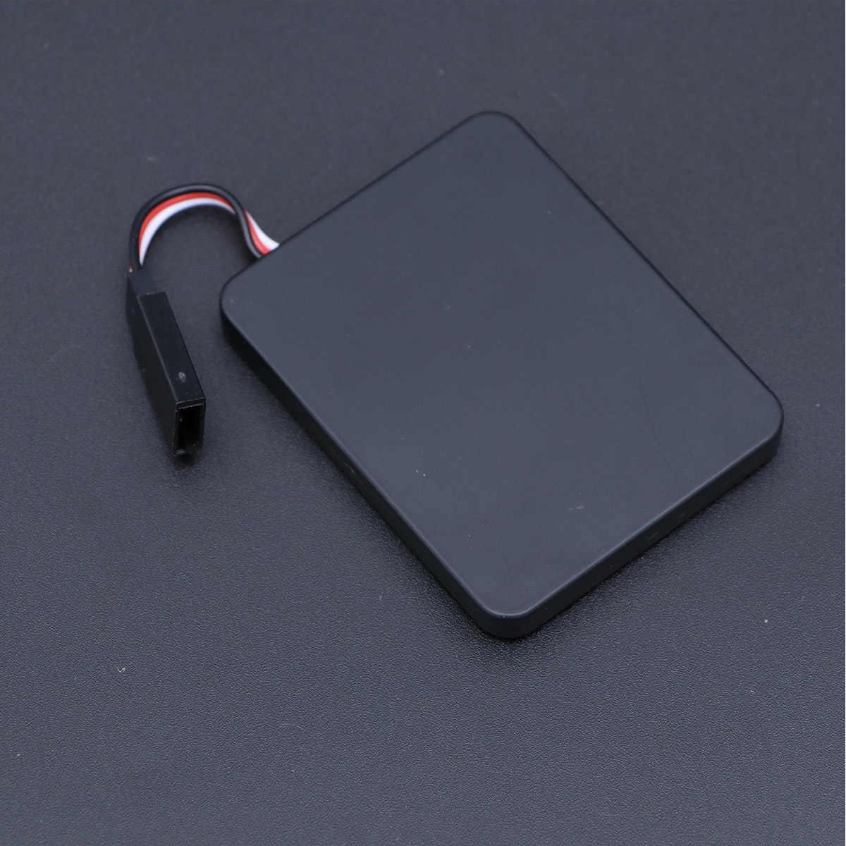 1Pc Tarjeta de programa profesional de utilidad portadora de plástico duradero LED tablero de programa efectivo para control de coches RC
