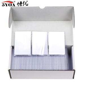 Image 1 - Cartão ic mf s50 clássico 1k m1, cartão pçs/lote mhz, proximidade inteligente 13.56mm para acesso, 10 0.8 rfid sistema de controle is14443a
