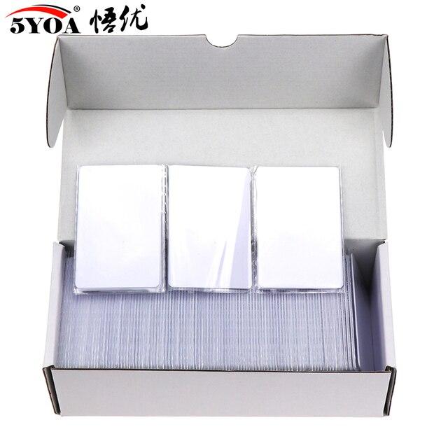 Cartão ic mf s50 clássico 1k m1, cartão pçs/lote mhz, proximidade inteligente 13.56mm para acesso, 10 0.8 rfid sistema de controle is14443a