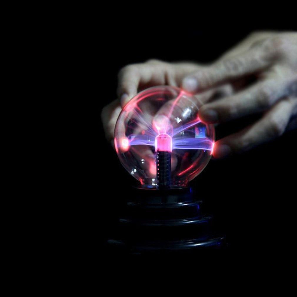 Electrostatic Ball Lamp Vibrating Creative Children's Toys Funny High Technology Interesting Gadgets Light Ball