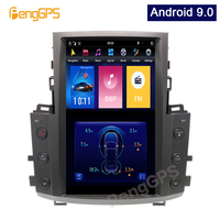 Tesla Vertical Screen Stereo for Lexus LX570 2007 2015 GPS Navigation DVD Player Autoradio IPS Unit PX6 13.6 Android 9.0 OBD