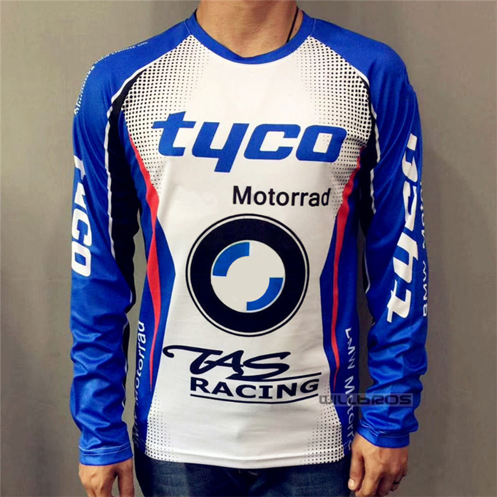 Motorcycle Motocross Long Sleeve For <font><b>BMW</b></font> Motorbike Street Moto Riding T <font><b>Shirt</b></font> image