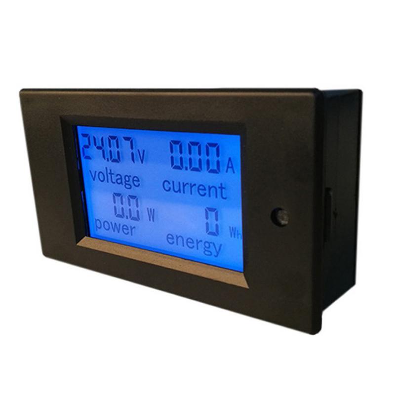 Newest DC Digital Panel Voltmeter Ampermeter 6.5-100V 100A 4 IN1 LCD Power Energy Current Watt Meter PZEM-051 Without Shunt