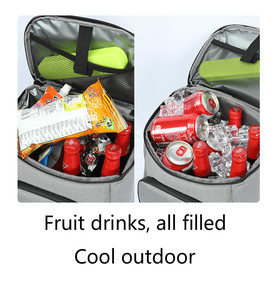 Image 5 - DENUONISS New 30L Soft Cooler Bag 35 Cans 100% Leakproof Cooler Backpack 600D Oxford Waterproof Picnic Thermal Insulated Bag