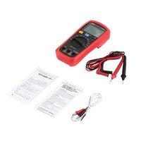 Digital Multimeter UNIT DC/AC Voltage Current Meter Handheld Ammeter Diode Capacitance Tester 4000 Counts MultitesterUT136C+