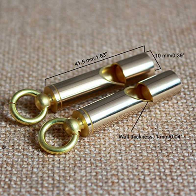 Мини свисток премиум аварийный свисток Громкая Версия EDC инструменты