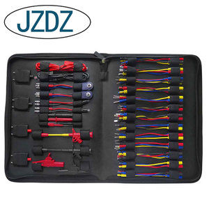 JZDZ, 70 шт., набор, мультиметр, набор тестовых проводов, набор, необходимые автомобильные электронные соединительные кабели, ручной инструмент...
