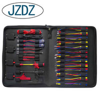 JZDZ 70pcs Whole Set Multimeter Test Lead Kits Set Essential Automotive Electronic Connectors Cables Hand Tool Tester