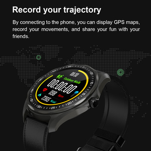 Image 4 - SENBONO S09 Smart Watch IP68 Waterproof Men Heart Rate Monitor Blood Pressure Fitness Tracker GPS Map Smartwatch for Android iOS