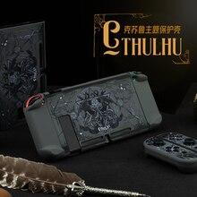 Жесткий чехол-накладка Geekshare с изображением волшебной Лиги Cthulhu Dark Myth Switch для Nintendo Switch