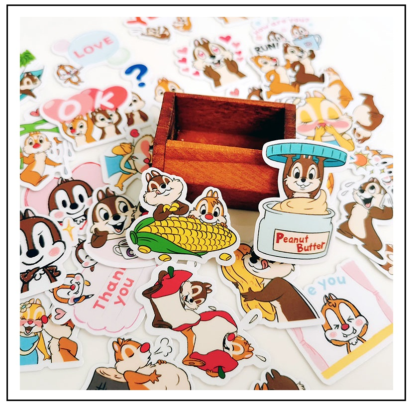 40PCS Cute Cartoon Stickers Crafts And Scrapbooking Stickers Kids Toys Book Decorative Sticker DIY Stationery