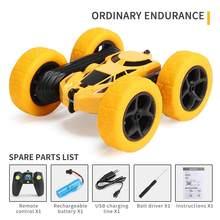 Vehicle-Toys Crawler Radio-Control Drift-Deformation Rc-Car Led-Light 4CH Flip with 1:16-Stunt