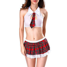 sex shop exotic apparel New Women exotic set Lace Lingerie Underwear Nightgown M