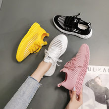 2021 Spring New Net Shoes Ladies Sports Shoes Flat Casual Shoes Breathable