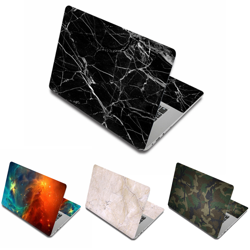 Marble Grain Laptop Skin Stickers 15.6