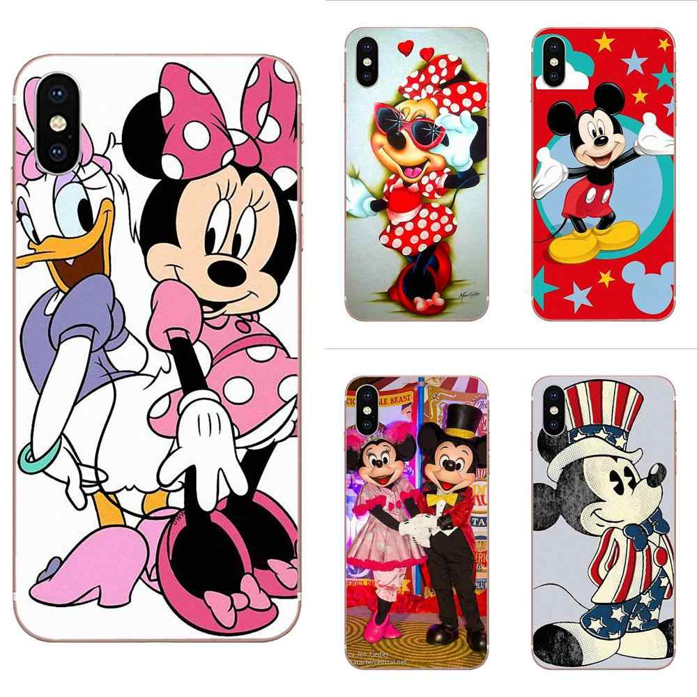 2019 Minnie Mickey Mouse Cartoon For Huawei Nova 2 V20 Y3II Y5 Y5II Y6 Y6II Y7 Y9 G8 G9 GR3 GR5 GX8 Prime 2018 2019