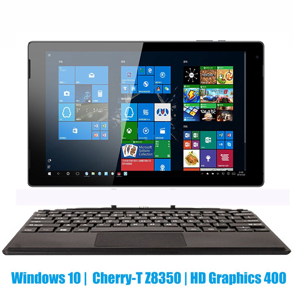 <font><b>10.1</b></font> inch <font><b>tablet</b></font> PC <font><b>Windows</b></font> <font><b>10</b></font> Intel 8350 Quad Core 4GB RAM 32GB ROM Type-C 2 in 1 <font><b>Tablet</b></font> with Keyboard Dual Camera HDMI 6000mAh image