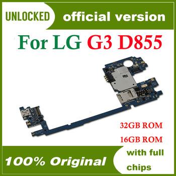 16 gb 32 gb dla LG G3 D855 D850 płyta główna z system android 100 oryginalny odblokowany dla LG G3 D855 D850 tablice logiczne tanie i dobre opinie HHXHH Wewnętrzny For LG G3 D855 D850 Original unlocked Disassemble and used 16gb 32gb Shenzhen Guangdong China(mainland)