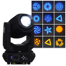 DJ party lights DMX led spot beam moving head light 200w zoom gobo moving heads Professional disco show stage lighting projector cheap Stage Lighting Effect DMX Stage Light 250w 200w gobo beam moving head 90-240V Professional Stage DJ