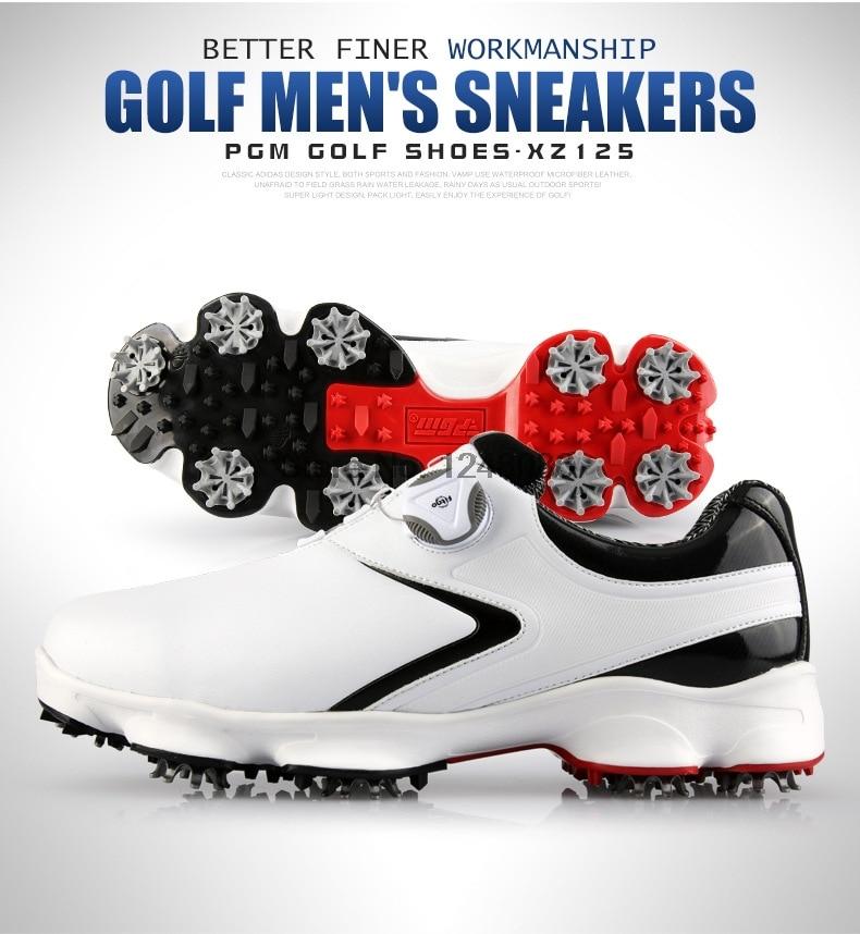 água sapatos de golfe homem atividade prego