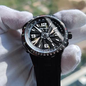 Image 5 - Reef Tiger/RT relojes deportivos automáticos para hombre, reloj militar de acero negro, luminoso, resistente al agua, marca de lujo, RGA3059, 2020