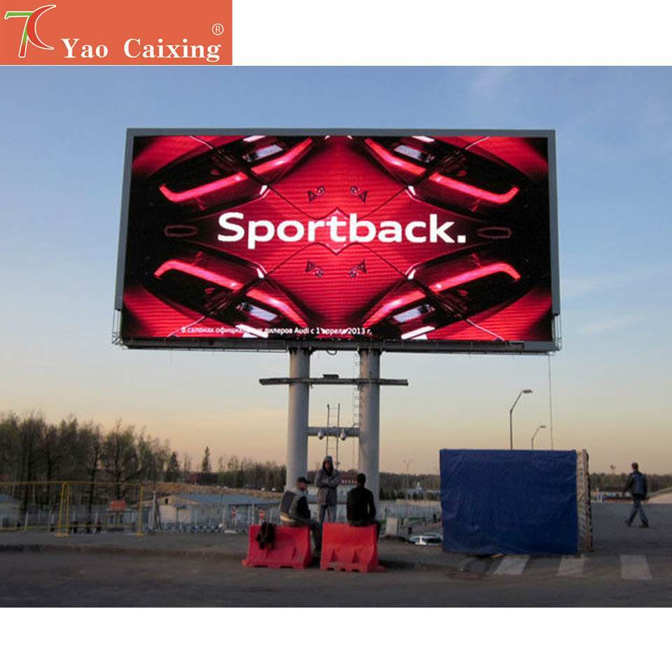 Free Installation Method Of P8 Outdoor Full Color Led Video Wall For Advertising