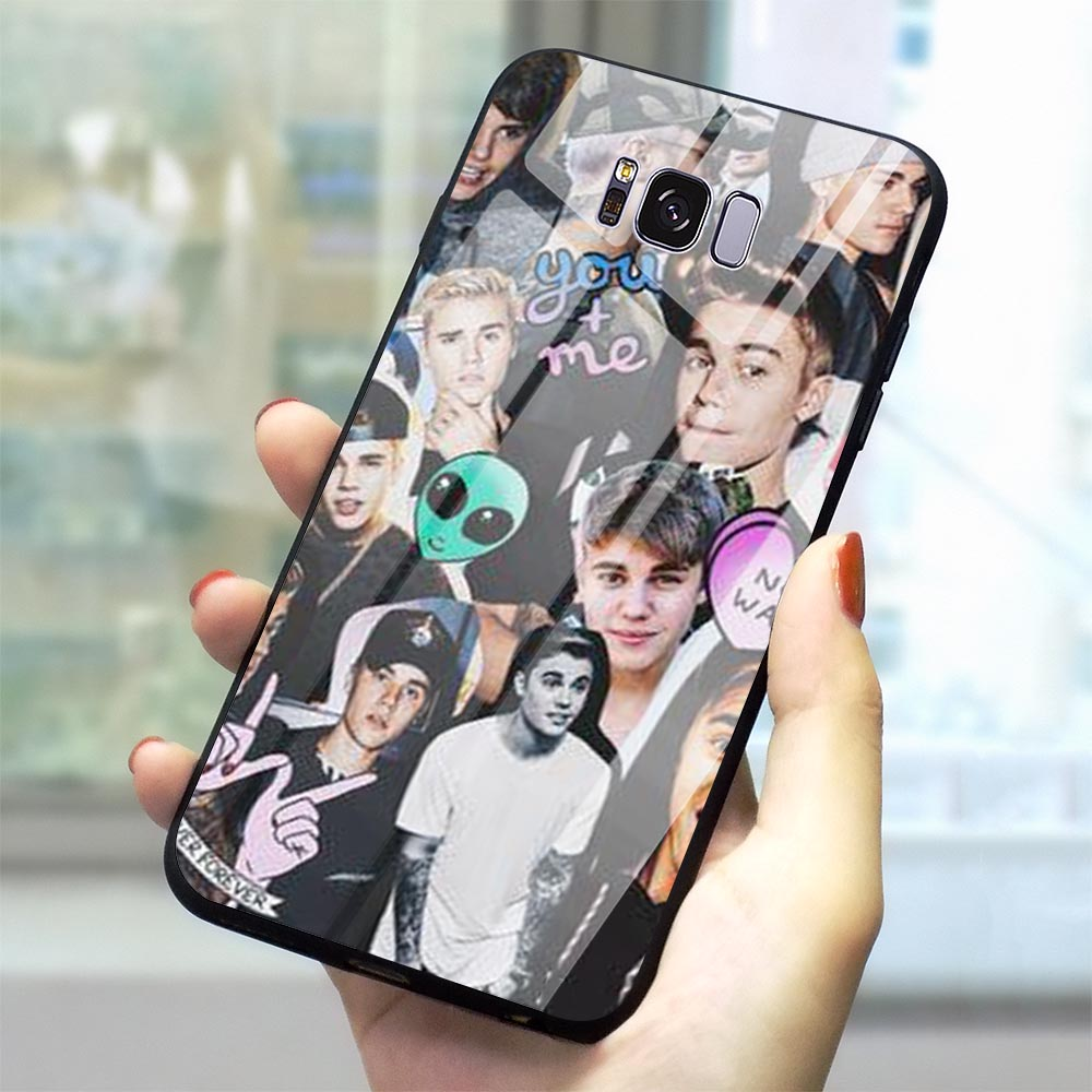 Justin Bieber Shy Boy Glass Phone Cover for Samsung Galaxy S7 Case A70 A60 M40 A50 A40 A20 A30 A10 S7 Edge S8 S9 Plus S10 image
