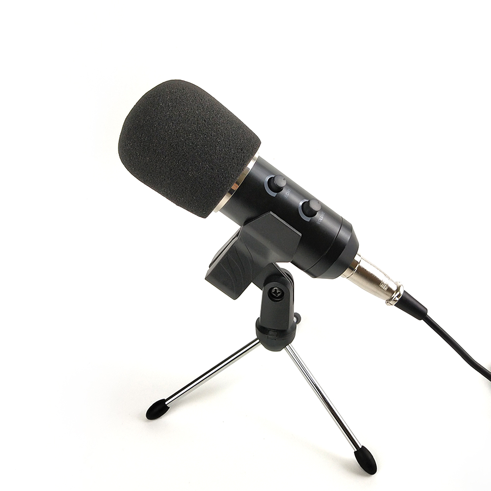 New Bm 800 Usb Microphone Karaoke Studio Bm800 Condenser Microphone For Pc Computer Gaming Streams Recording Mic With Stand Leather Bag