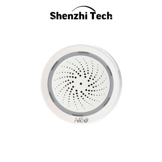 WiFi Temperature Humidity Sensor Environment Sensor Detector Alarm USB Power Work with Alexa Echo Google Smart Home IFTTT