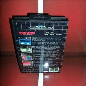 Image 2 - عجب Boy الاتحاد الأوروبي غطاء مع صندوق ودليل ل Sega megadve نشأة لعبة فيديو وحدة التحكم 16 بت MD بطاقة