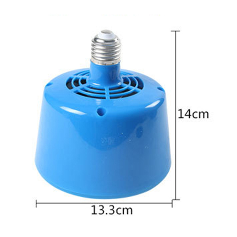 1pc Poultry Heating Lamp 13.3x14cm 220V 3LED Heating Lamp Light Livestock Brooder Chicken Hatching Bulb