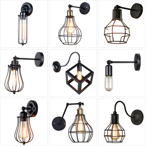 Vintage Industrial Wall Lamp,A
