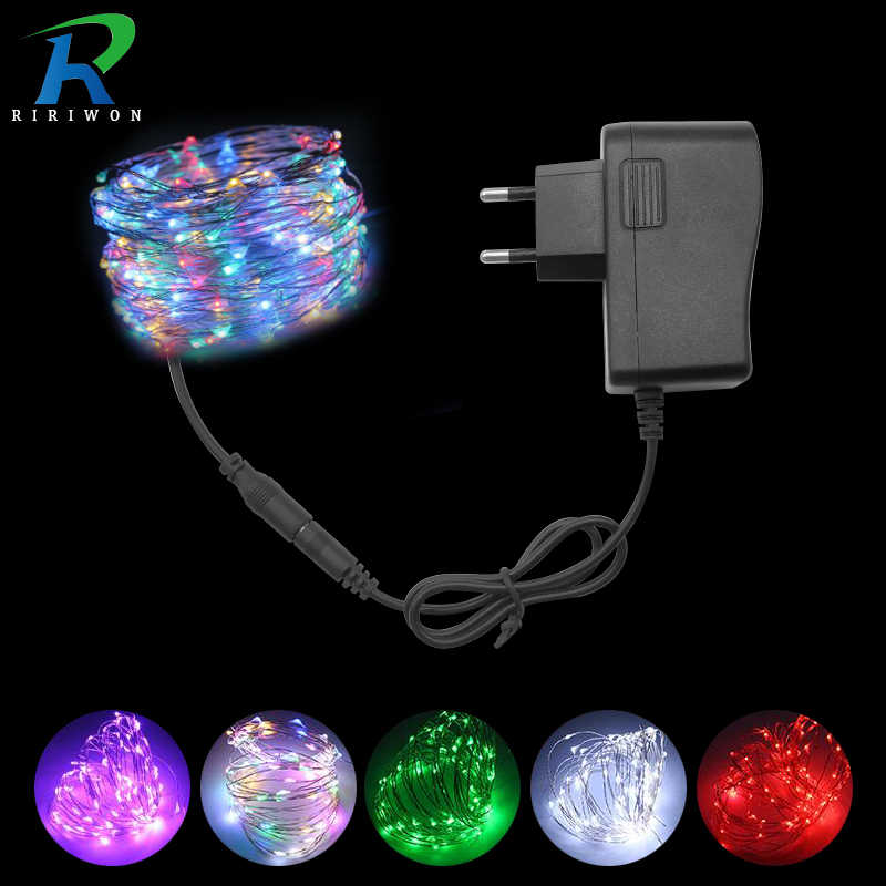 LED String Lights Outdoor Copper Wire LED Light Garland Led String Lamp DC12V Waterproof Holiday Fairy Light For Party Wedding