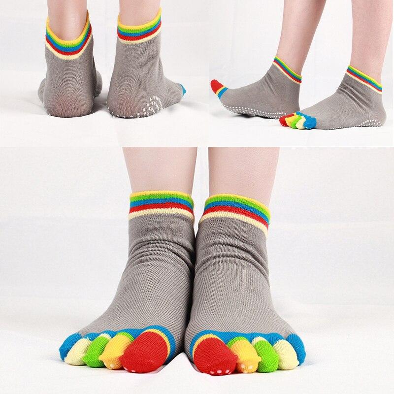 WO/_ Women Sports Five Toe Socks Stocking Casual Running Support Fitness Yoga Nov