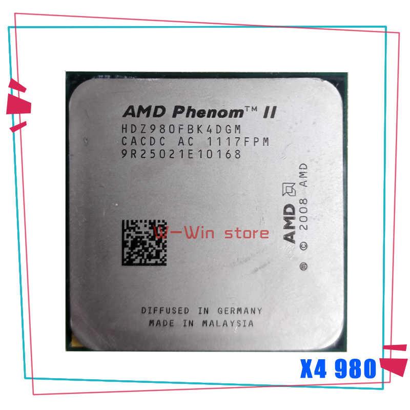Amd Phenom Ii X4 980 3 7 Ghz Quad Core Cpu Processor Hdz980fbk4dgm Socket Am3 Aliexpress
