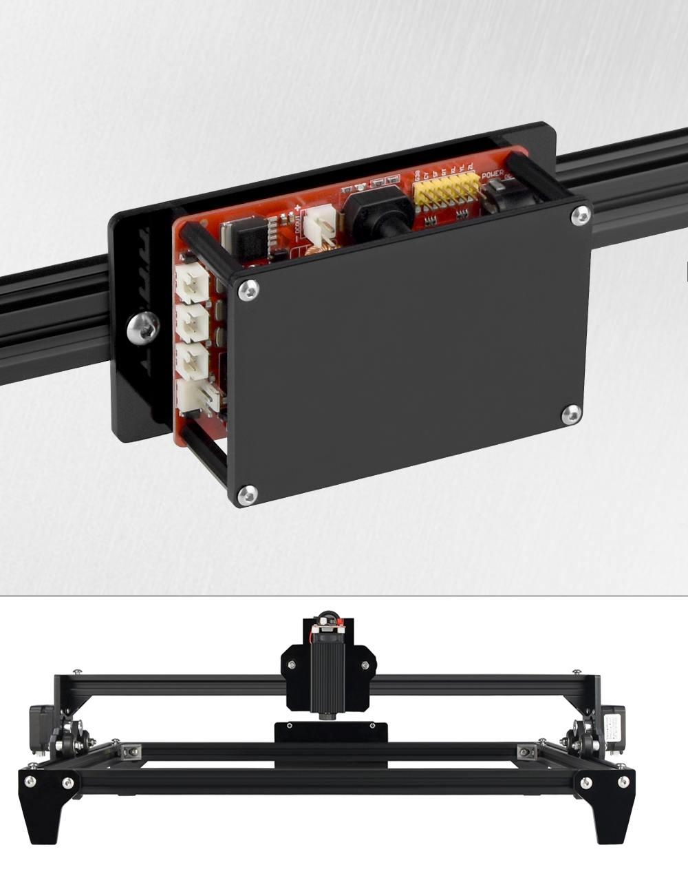 1pc C30 2500mW 450x400mm Große Gravur Bereich Schwarz Laser Gravur Maschine CNC Laser Holz Router drucker Cutter
