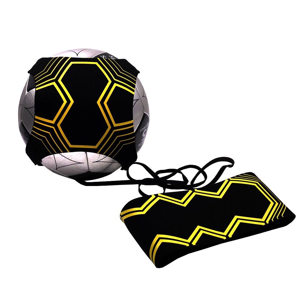 New Football Soccer Kick Trainer Skills Practice Exercises Training Waist Belt Ball Size 3 4 5 Beginners Practice Dropshipping
