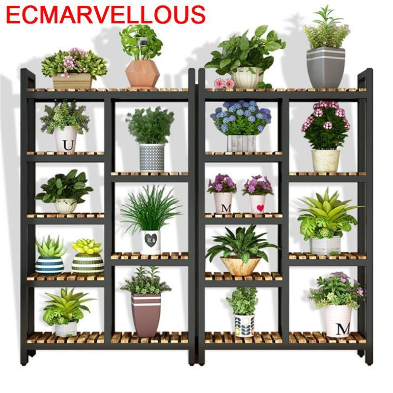 Indoor Plantas Plantenrekken Estante Para Flores Living Room Dekoration Stojak Na Kwiaty Outdoor Flower Shelf Plant Stand