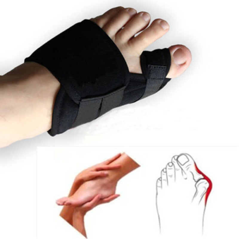 1Pair Soft Bunion Corrector Splint Correction Hallux Valgus Foot Care Pedicure Orthotics Tool Unisex Feet Orthopedic Supplies