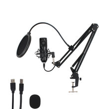 Professional BM 800 USB Microphone Condenser Karaoke Sound Recording Studio Microphone For PC