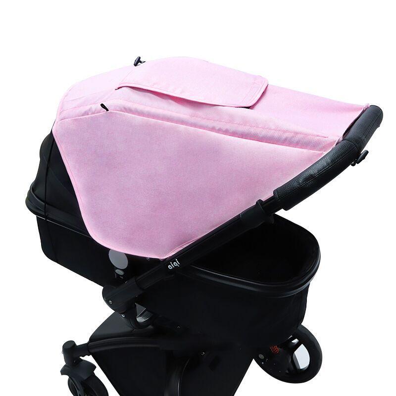 Солнцезащитный коляску, аксессуар для автомобильного сиденья, защита от УФ-лучей, дышащий универсальный чехол для защиты глаз 4