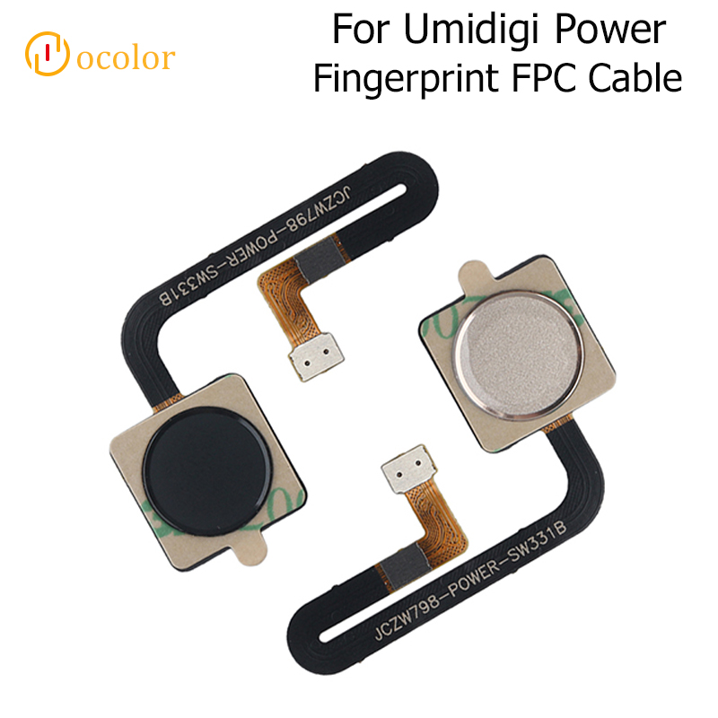 Ocolor For Umidigi Power Fingerprint Sensor Scanner Flex Cable Parts For Umidigi Power​ MobileFingerprint FPC Cable Accessories