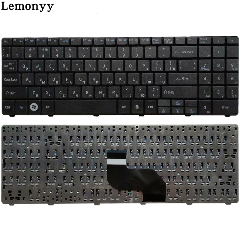 NEW Russian Laptop Keyboard For Medion E6217 DNS Peagtron H36 0KN0-W01RU121 MP-08G63SU-5287 Black RU Keyboard