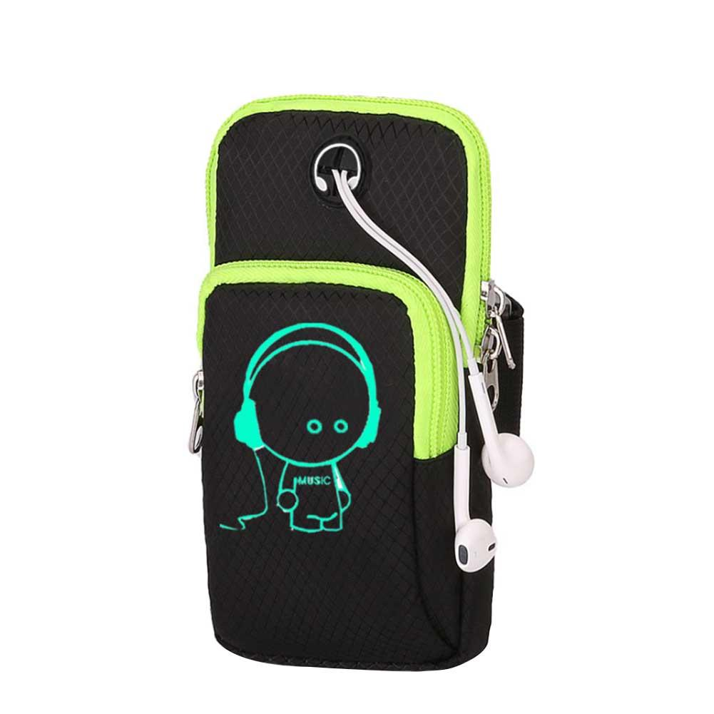 Sports Running Mobile Phone Arm Belt Bag For Outdoor Sport Armband Run Casual Package Gym Fitness Cuff Telephone Bags Key Holder