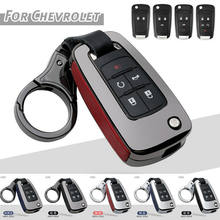 Alloy Key Keyless Remote Case Cover For Chevrolet Cruze Aveo Sonic Volt Buick
