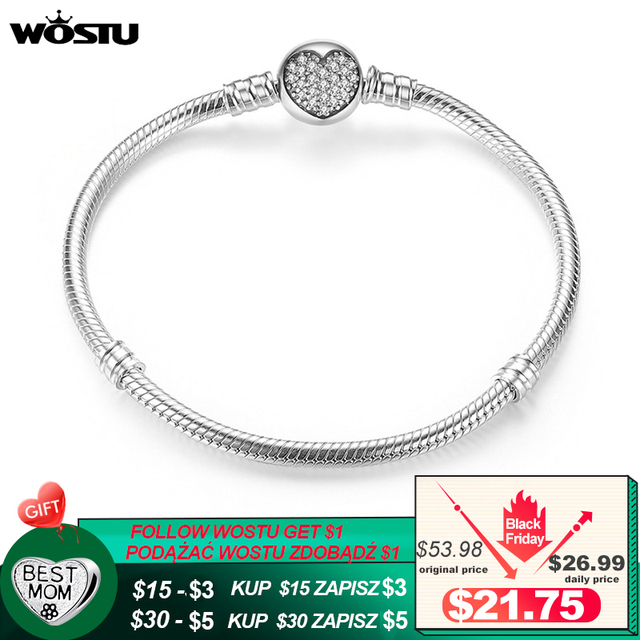 Lüks 100% 925 ayar gümüş köpüklü kalp yılan zincir Fit orijinal Charm bilezik & bileklik kadınlar için güzel takı XCHS916