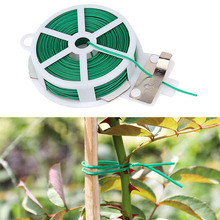 100/50M Garden Cable Tie Reusable Plastic Twist Cable Tie Gardening Flower Plant Support Strap Cable Tie Home Garden Supplies