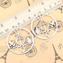 4pcs Charms death libra 46x42mm Antique Pendants,Vintage Tibetan Silver Jewelry,DIY for bracelet necklace
