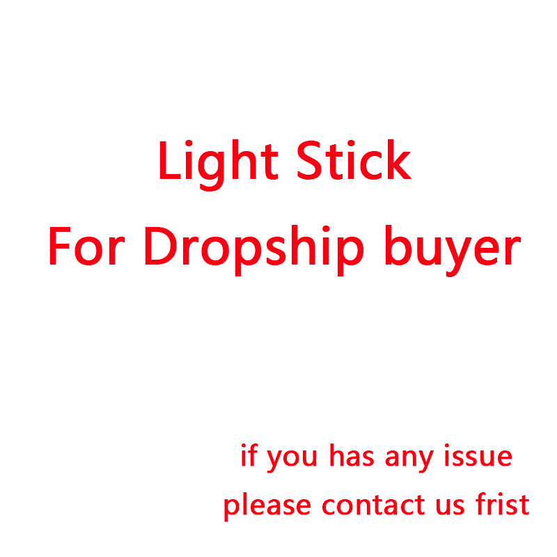 Drop-ship corée Hip Hop Ver.3 bâtonnets de lumière LED préoccupation lueur lampe Love you cadeaux Fans Collection jouets livraison directe en gros