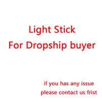 Envío Directo Corea Hip Hop Ver.3 palillos de luz LED preocupación lámpara de brillo amor tú mismo regalos Fans colección juguetes Dropshipping venta al por mayor